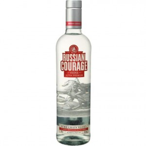 RUSSIAN COURAGE VODKA 70 CL 37.5%